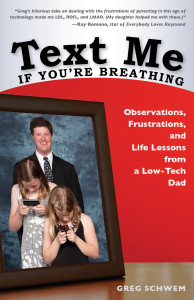 Text Me If Youre Breathing front cover